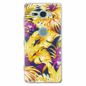 Plastové pouzdro iSaprio - Tropical Orange 04 - Sony Xperia XZ2 Compact