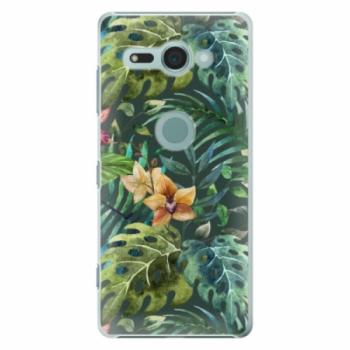 Plastové pouzdro iSaprio - Tropical Green 02 - Sony Xperia XZ2 Compact
