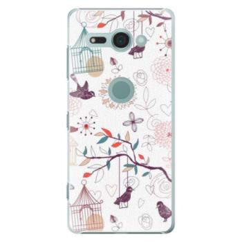 Plastové pouzdro iSaprio - Birds - Sony Xperia XZ2 Compact