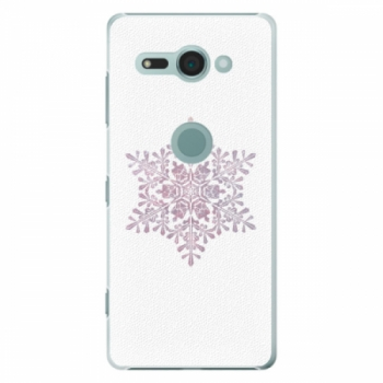 Plastové pouzdro iSaprio - Snow Flake - Sony Xperia XZ2 Compact