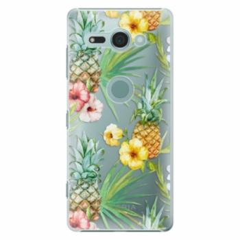 Plastové pouzdro iSaprio - Pineapple Pattern 02 - Sony Xperia XZ2 Compact