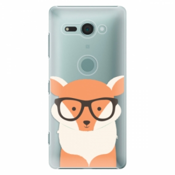 Plastové pouzdro iSaprio - Orange Fox - Sony Xperia XZ2 Compact
