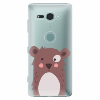 Plastové pouzdro iSaprio - Brown Bear - Sony Xperia XZ2 Compact