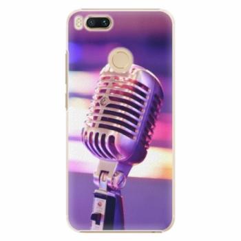 Plastové pouzdro iSaprio - Vintage Microphone - Xiaomi Mi A1