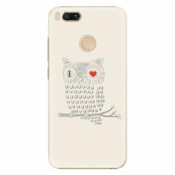 Plastové pouzdro iSaprio - I Love You 01 - Xiaomi Mi A1
