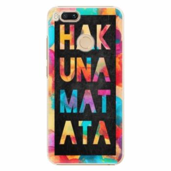 Plastové pouzdro iSaprio - Hakuna Matata 01 - Xiaomi Mi A1