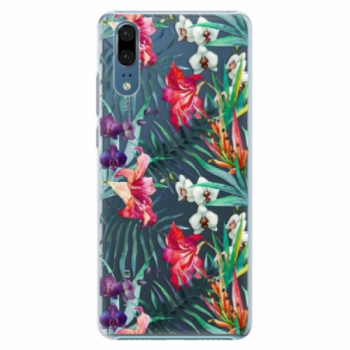 Plastové pouzdro iSaprio - Flower Pattern 03 - Huawei P20
