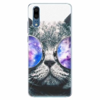 Plastové pouzdro iSaprio - Galaxy Cat - Huawei P20