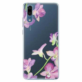 Plastové pouzdro iSaprio - Purple Orchid - Huawei P20
