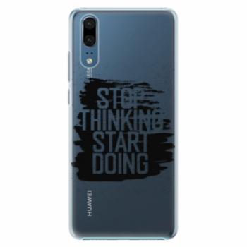 Plastové pouzdro iSaprio - Start Doing - black - Huawei P20