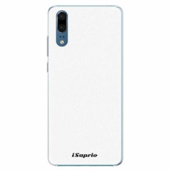 Plastové pouzdro iSaprio - 4Pure - bílý - Huawei P20