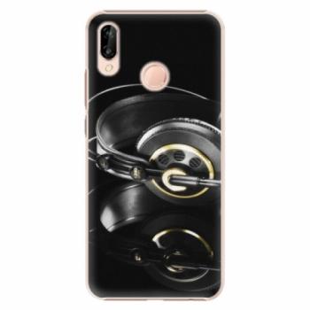 Plastové pouzdro iSaprio - Headphones 02 - Huawei P20 Lite