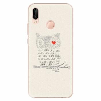 Plastové pouzdro iSaprio - I Love You 01 - Huawei P20 Lite