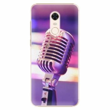 Plastové pouzdro iSaprio - Vintage Microphone - Xiaomi Redmi 5 Plus