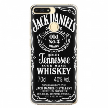Plastové pouzdro iSaprio - Jack Daniels - Huawei Honor 7A