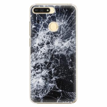 Plastové pouzdro iSaprio - Cracked - Huawei Honor 7A