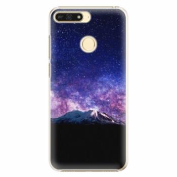 Plastové pouzdro iSaprio - Milky Way - Huawei Honor 7A