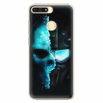 Plastové pouzdro iSaprio - Roboskull - Huawei Honor 7A