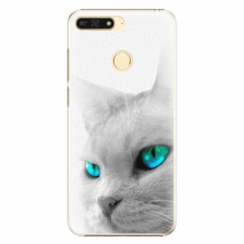 Plastové pouzdro iSaprio - Cats Eyes - Huawei Honor 7A