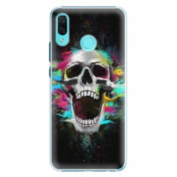 Plastové pouzdro iSaprio - Skull in Colors - Huawei Nova 3