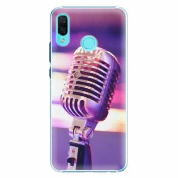 Plastové pouzdro iSaprio - Vintage Microphone - Huawei Nova 3