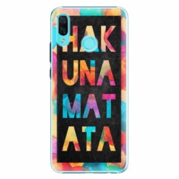 Plastové pouzdro iSaprio - Hakuna Matata 01 - Huawei Nova 3