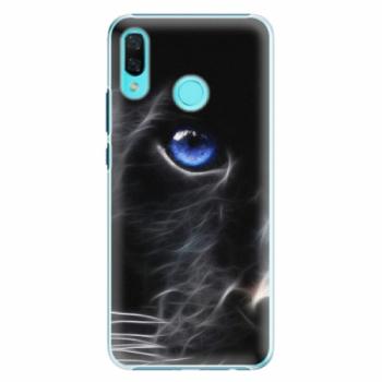 Plastové pouzdro iSaprio - Black Puma - Huawei Nova 3