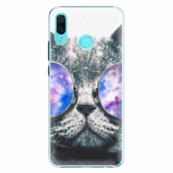 Plastové pouzdro iSaprio - Galaxy Cat - Huawei Nova 3