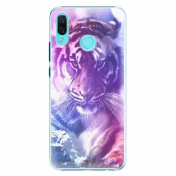 Plastové pouzdro iSaprio - Purple Tiger - Huawei Nova 3