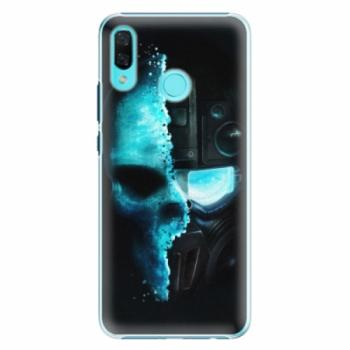 Plastové pouzdro iSaprio - Roboskull - Huawei Nova 3