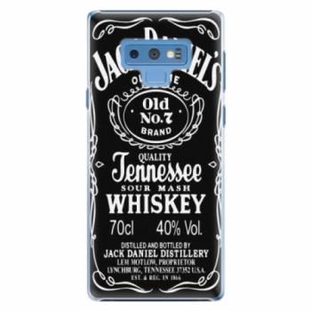 Plastové pouzdro iSaprio - Jack Daniels - Samsung Galaxy Note 9