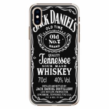 Plastové pouzdro iSaprio - Jack Daniels - iPhone XS