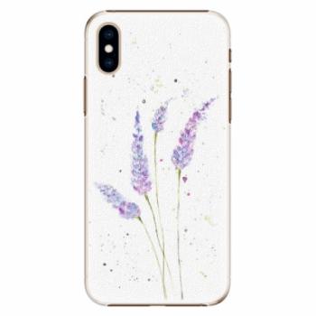 Plastové pouzdro iSaprio - Lavender - iPhone XS