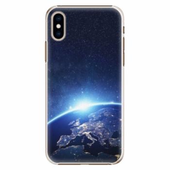 Plastové pouzdro iSaprio - Earth at Night - iPhone XS