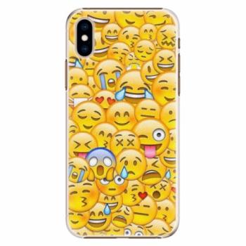 Plastové pouzdro iSaprio - Emoji - iPhone XS