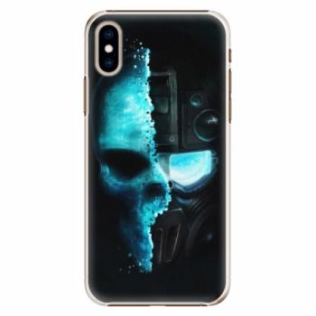 Plastové pouzdro iSaprio - Roboskull - iPhone XS