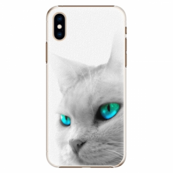 Plastové pouzdro iSaprio - Cats Eyes - iPhone XS