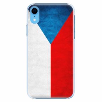 Plastové pouzdro iSaprio - Czech Flag - iPhone XR