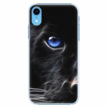 Plastové pouzdro iSaprio - Black Puma - iPhone XR
