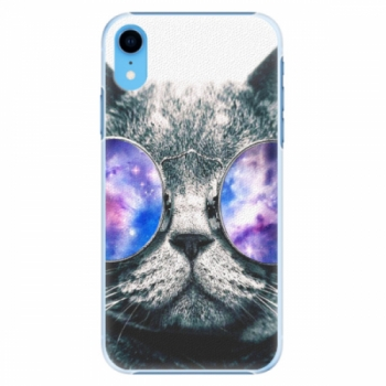 Plastové pouzdro iSaprio - Galaxy Cat - iPhone XR
