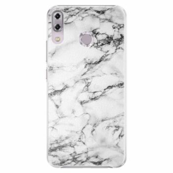 Plastové pouzdro iSaprio - White Marble 01 - Asus ZenFone 5Z ZS620KL