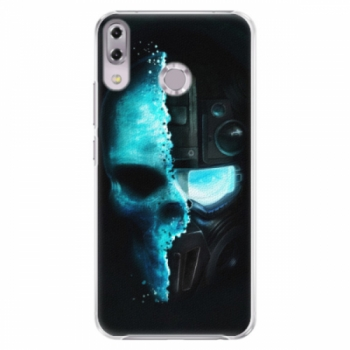 Plastové pouzdro iSaprio - Roboskull - Asus ZenFone 5Z ZS620KL