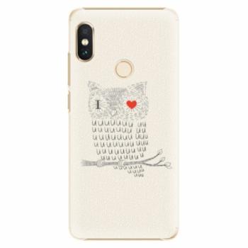 Plastové pouzdro iSaprio - I Love You 01 - Xiaomi Redmi Note 5
