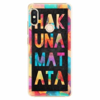 Plastové pouzdro iSaprio - Hakuna Matata 01 - Xiaomi Redmi Note 5