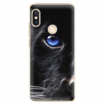 Plastové pouzdro iSaprio - Black Puma - Xiaomi Redmi Note 5