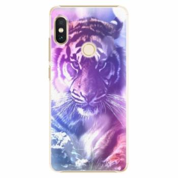 Plastové pouzdro iSaprio - Purple Tiger - Xiaomi Redmi Note 5