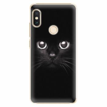 Plastové pouzdro iSaprio - Black Cat - Xiaomi Redmi Note 5