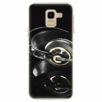 Plastové pouzdro iSaprio - Headphones 02 - Samsung Galaxy J6