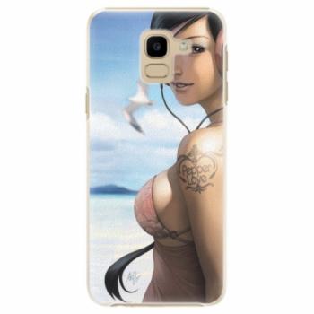 Plastové pouzdro iSaprio - Girl 02 - Samsung Galaxy J6