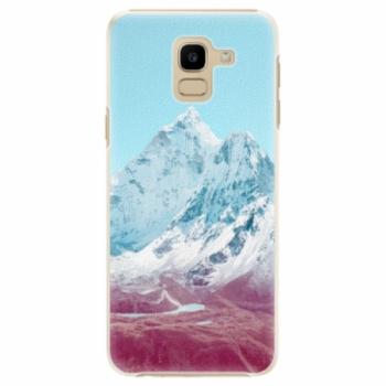 Plastové pouzdro iSaprio - Highest Mountains 01 - Samsung Galaxy J6